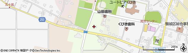 新潟県上越市頸城区千原周辺の地図