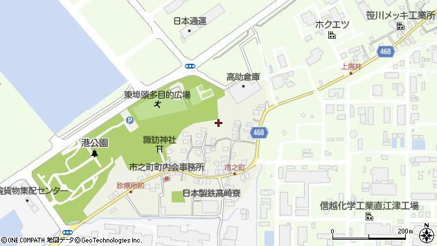 〒942-0012 新潟県上越市高崎新田の地図