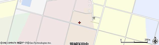 新潟県上越市頸城区田中周辺の地図