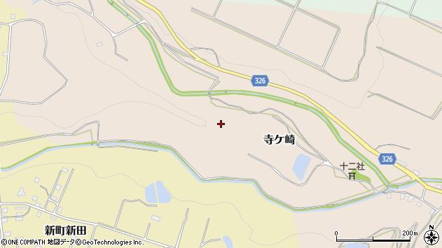〒948-0303 新潟県十日町市寺ケ崎の地図