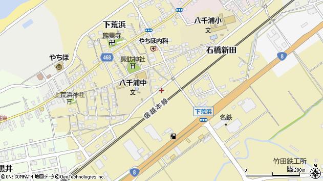〒942-0022 新潟県上越市下荒浜の地図