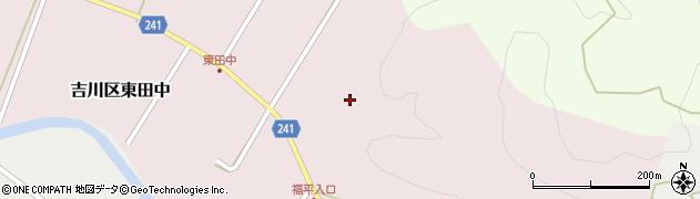 徳蔵寺周辺の地図