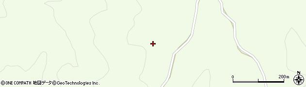 福島県いわき市三和町下三坂(南山)周辺の地図