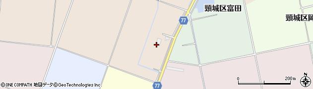 新潟県上越市頸城区柳町周辺の地図