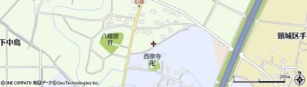 新潟県上越市頸城区松橋周辺の地図