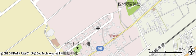 新潟県上越市遊光寺浜周辺の地図