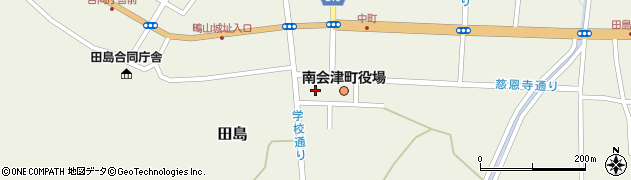 福島県南会津郡南会津町周辺の地図