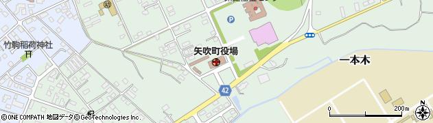 福島県西白河郡矢吹町周辺の地図