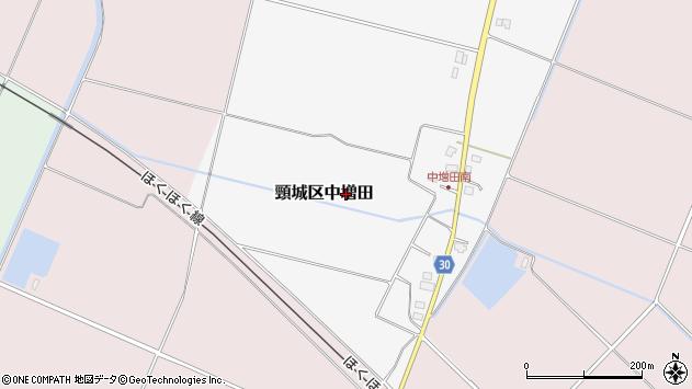 〒942-0205 新潟県上越市頸城区中増田の地図