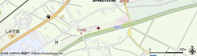 新潟県上越市大潟区潟守新田周辺の地図