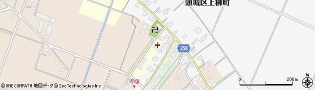 新潟県上越市頸城区寺田周辺の地図