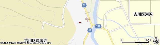 新潟県上越市吉川区十町歩周辺の地図