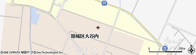新潟県上越市頸城区大谷内周辺の地図