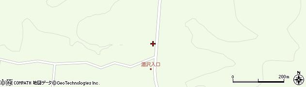 福島県白河市大信隈戸(湯沢)周辺の地図