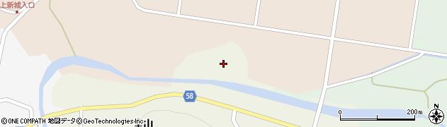 福島県白河市大信増見(曲渕)周辺の地図