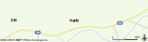 福島県いわき市三和町下三坂(中ノ町)周辺の地図