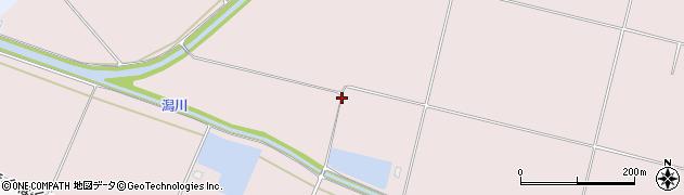 新潟県上越市頸城区潟周辺の地図