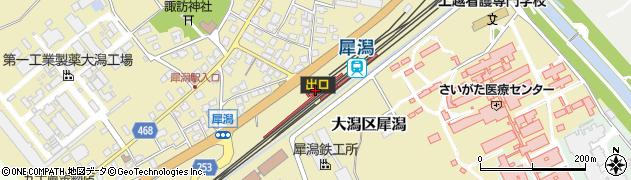 新潟県上越市周辺の地図