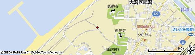 新潟県上越市大潟区犀潟周辺の地図