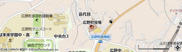福島県双葉郡広野町周辺の地図