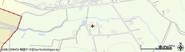 福島県西白河郡矢吹町東の内周辺の地図