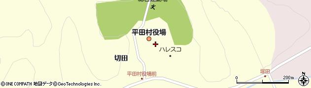 福島県石川郡平田村周辺の地図