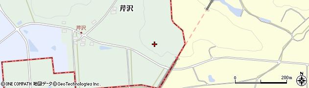 福島県天栄村(岩瀬郡)小川(下芹沢)周辺の地図