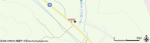 福島県白河市大信隈戸(大山)周辺の地図