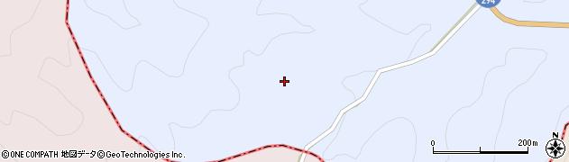 福島県天栄村(岩瀬郡)大里(堺沢)周辺の地図