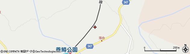 株式会社タイズ南会津周辺の地図