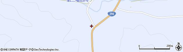 福島県天栄村(岩瀬郡)大里(森下)周辺の地図