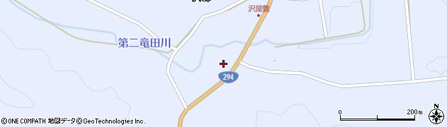 福島県天栄村(岩瀬郡)大里(松山)周辺の地図