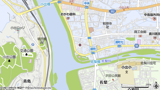 〒946-0011 新潟県魚沼市小出島の地図