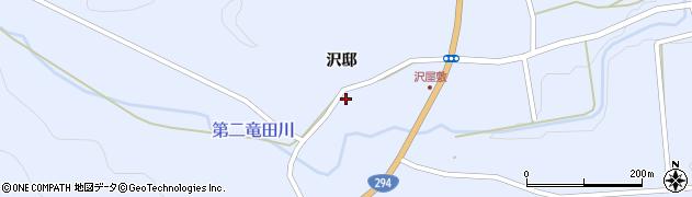 福島県天栄村(岩瀬郡)大里(沢邸)周辺の地図