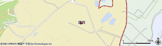 福島県天栄村(岩瀬郡)高林(深沢)周辺の地図