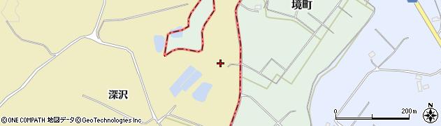 福島県天栄村(岩瀬郡)高林(中平)周辺の地図