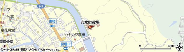 石川県鳳珠郡穴水町周辺の地図