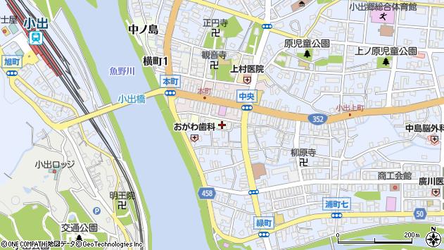 〒946-0012 新潟県魚沼市浦町の地図