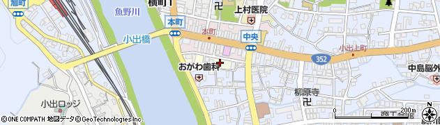 新潟県魚沼市浦町周辺の地図