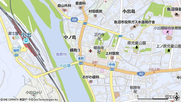 〒946-0002 新潟県魚沼市稲荷町の地図