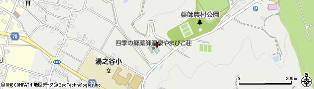新潟県魚沼市七日市新田周辺の地図