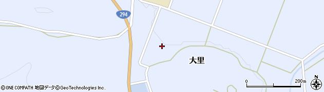福島県天栄村(岩瀬郡)大里(関根)周辺の地図