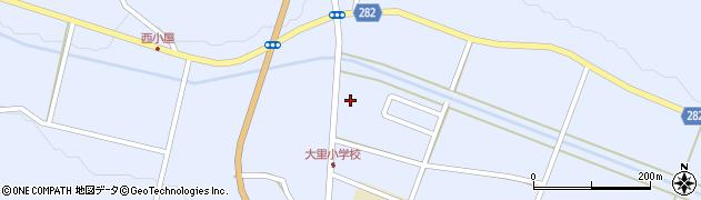 福島県天栄村(岩瀬郡)大里(御蔵前)周辺の地図