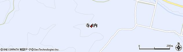 福島県天栄村(岩瀬郡)大里(寺ノ内)周辺の地図