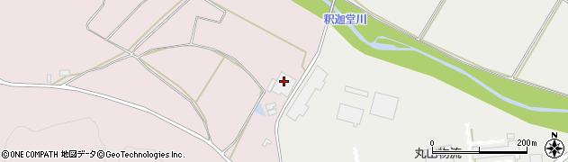 福島県天栄村(岩瀬郡)白子(岡谷地)周辺の地図