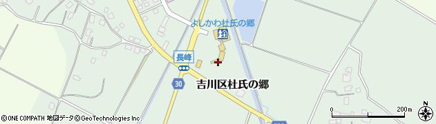 新潟県上越市吉川区杜氏の郷周辺の地図
