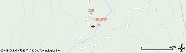 福島県天栄村(岩瀬郡)湯本(下二俣)周辺の地図