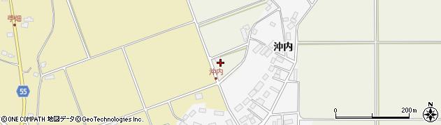 福島県天栄村(岩瀬郡)沖内(上ノ原)周辺の地図
