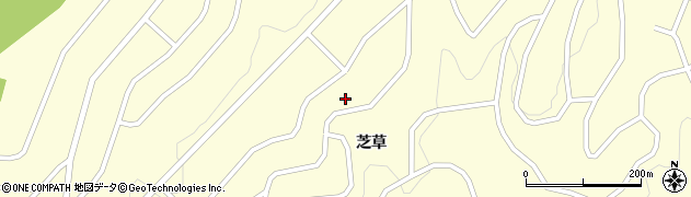 福島県天栄村(岩瀬郡)田良尾(芝草)周辺の地図