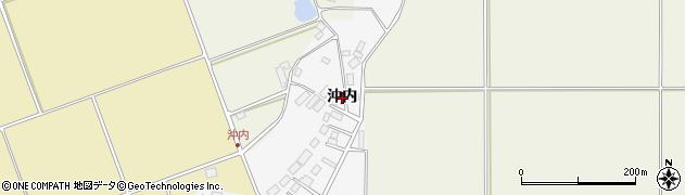 福島県天栄村(岩瀬郡)柿之内(沖内)周辺の地図